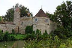 Dinkelsbuhl, Baviera, Alemanha Foto de Stock Royalty Free