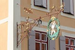 Dinkelsbuhl, Baviera, Alemanha Imagens de Stock