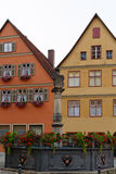 Dinkelsbuhl, Baviera, Alemanha Imagem de Stock Royalty Free