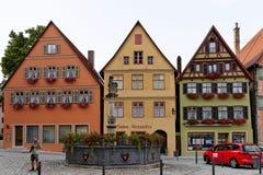 Dinkelsbuhl, Baviera, Germania Fotografia Stock Libera da Diritti