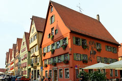 Dinkelsbuhl, Baviera, Germania Fotografie Stock