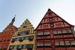 Dinkelsbuhl, Beieren, Duitsland Stock Foto