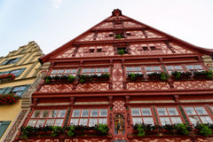 Dinkelsbuhl, Beieren, Duitsland Royalty-vrije Stock Foto's