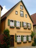 Dinkelsbuhl house in Germany. Characteristic Dinkelsbuhl house in Germany Royalty Free Stock Image
