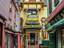 Dinks taxi restauracja Kolorowa Zdjęcie Stock