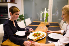 Dinner Royalty Free Stock Photos