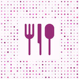 Dinner background. Dinner & Cooking background, knife fork spoon Stock Images