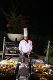 Dinner barbecue Stock Images