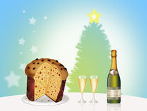 Dinner for Christmas Royalty Free Stock Photos