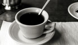 After Dinner Coffee royalty free stock images
