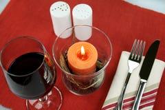 Dinner Decor stock photo