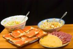 Dinner dish Stock Image