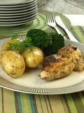 Dinner dish Stock Photo
