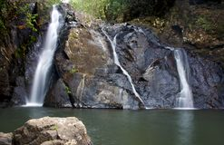 Dinner falls. Falls in Hypipamee National Park in far North Queensland Stock Photos