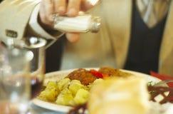 Dinner at fancy restaurant (Pogor House) Stock Image