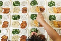 Free Dinner For Dozens Stock Images - 27962874