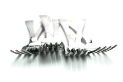 Dinner Forks Royalty Free Stock Photo