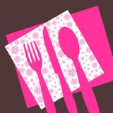 Dinner invitaion Stock Photo