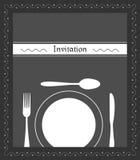 Dinner invitation Royalty Free Stock Photo