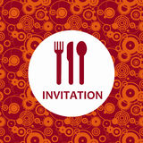 Dinner invitation Royalty Free Stock Photography