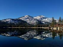 Dinner lake, Nevada Stock Images