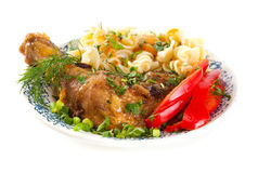 Dinner meal Royalty Free Stock Photo