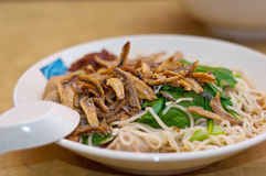Dinner Noodles Royalty Free Stock Photography