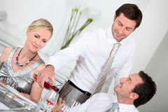Dinner party Stock Photo