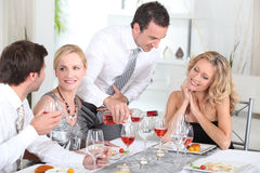 Dinner party Stock Photos