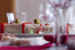 DINNER PARTY Royalty Free Stock Images