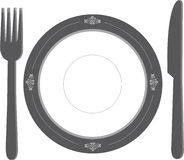 Dinner Place Setting Stock Image