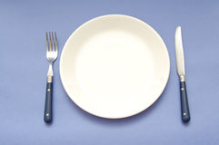 Dinner plate Stock Photos