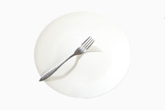 Dinner plate Royalty Free Stock Photography