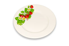 Dinner plate. Stock Images