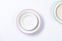 Dinner Plate Set Stock Image