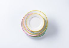 Dinner Plate Sets Stock Photos