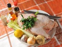 Dinner preparation. Royalty Free Stock Photo