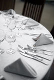 Dinner in a restaurant Royalty Free Stock Images