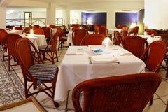 Dinner room into Arraial d'Ajuda Eco Resort royalty free stock images
