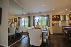 Dinner Room Royalty Free Stock Photography