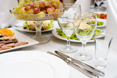 Dinner is served Royalty Free Stock Photos