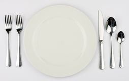 Dinner Service Stock Image