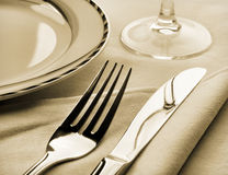 Dinner set Royalty Free Stock Photography