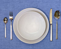 Dinner Set Stock Photo