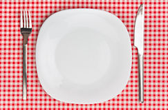 Dinner setting Royalty Free Stock Image