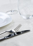 Dinner setting Royalty Free Stock Images