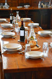Dinner setting Royalty Free Stock Photos