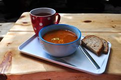 Dinner soup Royalty Free Stock Image