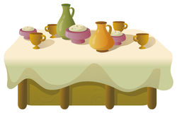 Dinner table Royalty Free Stock Photos