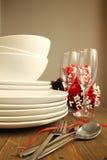 Dinner table Royalty Free Stock Photos